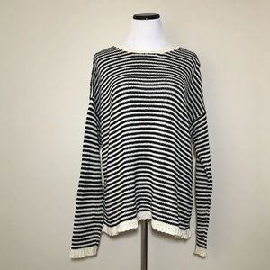 Eileen Fisher Striped Box Sweater